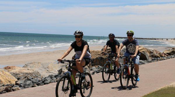 bike tours along coastline in adelaide