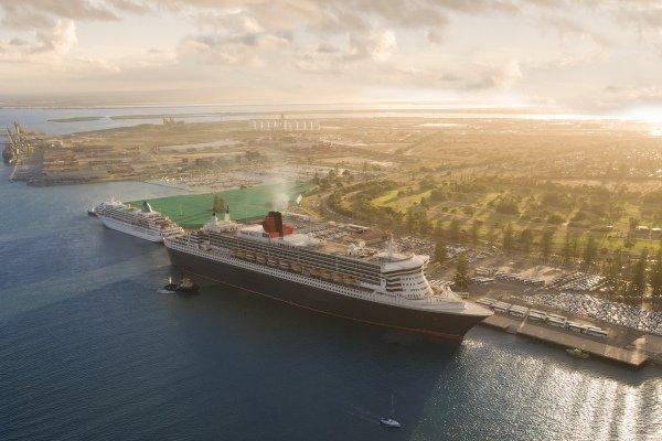 Cruise Ship Outer Harbor