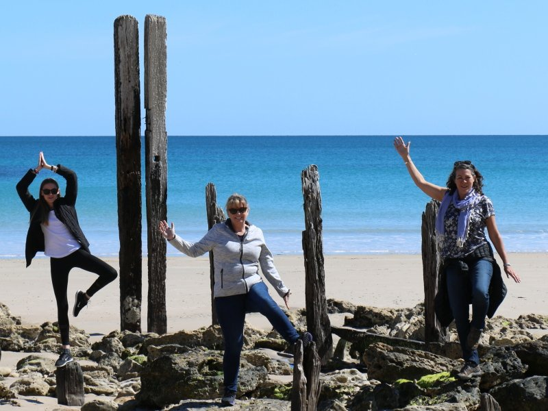 Shenanigans at Port Willunga - Photo: PureSA