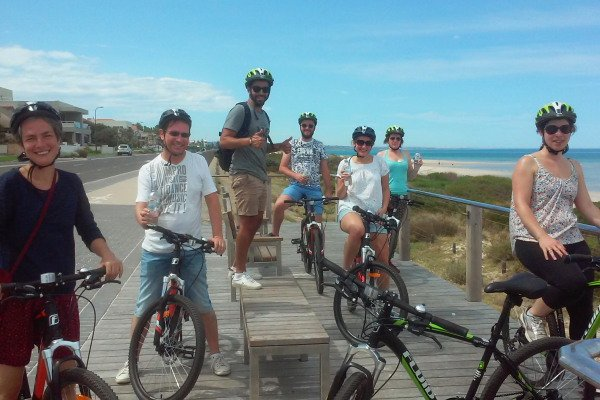 Quick pic time - the Adelaide coastal cycle trail - Photo Credit: PureSA