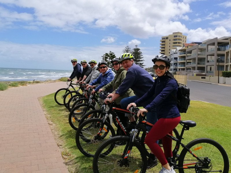 Cycle Tour at Glenelg - Photo: Pure SA